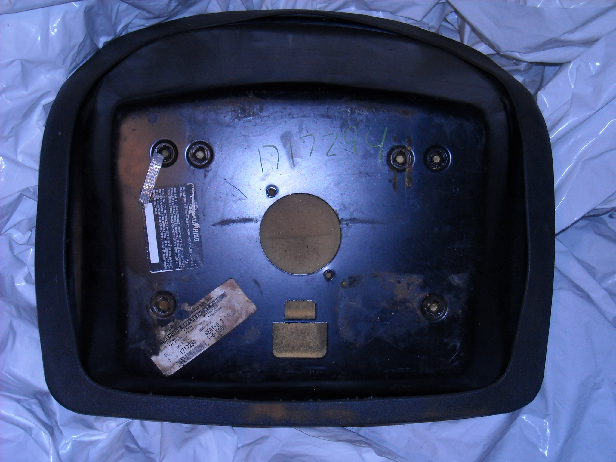 Joseph J Nemes Sons Parts Ac Simplicity Bs Cub Cadet Wheel Horse Wiring Harness 1717294 Seat Used