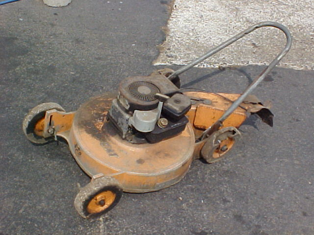 Old Simplicity Mowers
