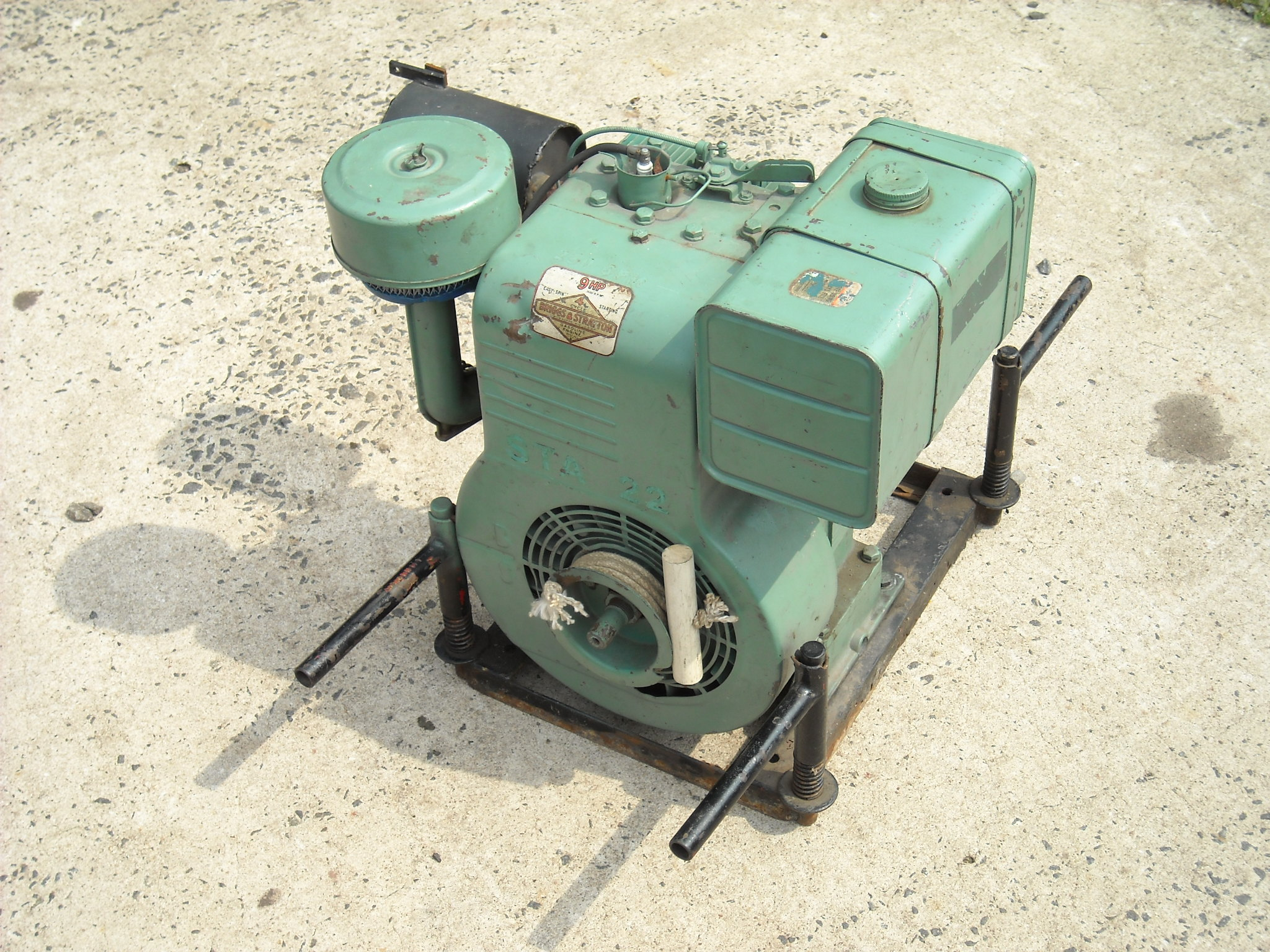Wheel Horse Kohler Engine Rebuild further Briggs And Stratton 550 Series 158Cc besides mercial Outdoor Heaters Electric in addition Diesel Air Heater also Briggs And Stratton 16 HP Vanguard Engine. on 10 hp briggs horizontal engine where is fuel pump