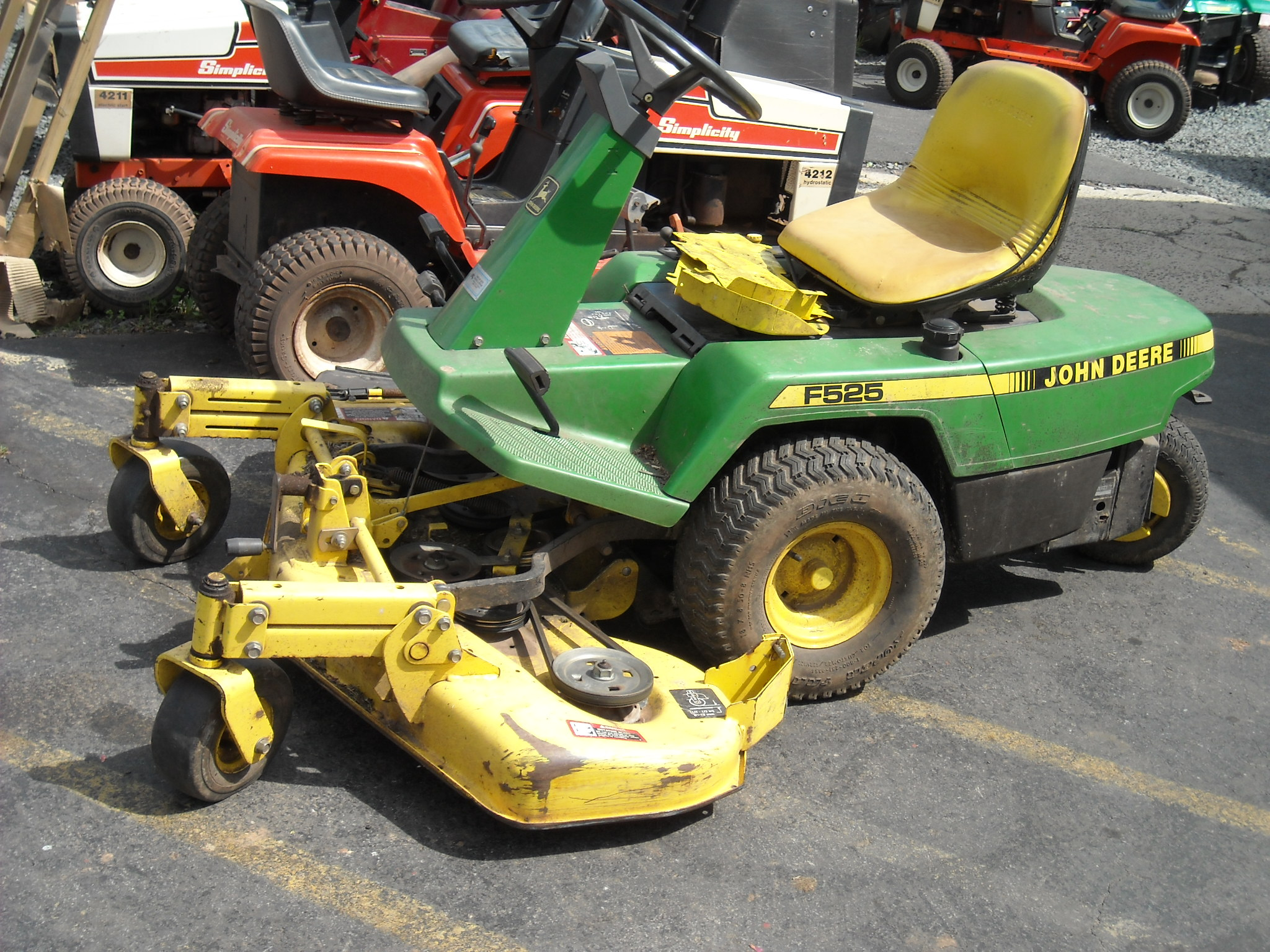 "LX425 - 20HP - 42"" mower - auto trans foot control - 3 yrs old"
