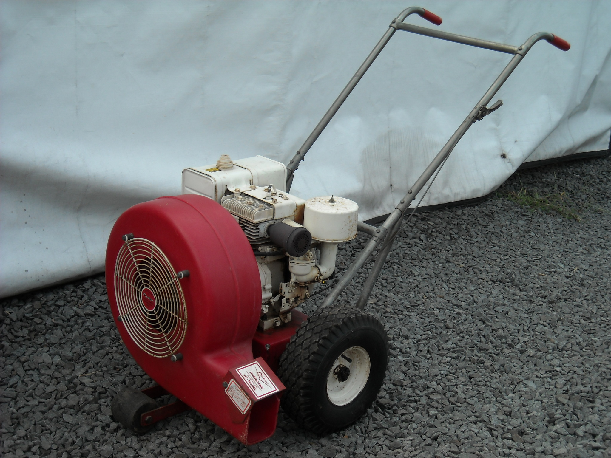 Parker Hurracane leaf blower - B&S 8HP- 1988 model HT-8880-B ...